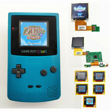 NEW Refurbished Game Boy Color GBC Console With Highlight Back Light LCD -Teal