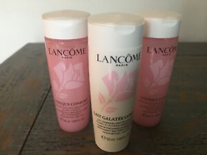 2 X LANCOME TONIQUE CONFORT TONER  plus Lait Galatee 50ml/1.690z each