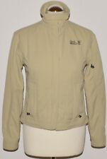 Jack Wolfskin chaqueta travel talla s beige logotipo chaqueta señora