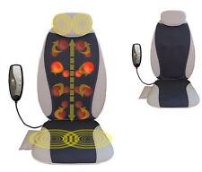 Shiatsu Back Massage Ball Chair Pad Vibration Neck Seat Cushion Body Massager