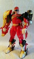 """Bandai Power Rangers 2001 Wild Force Deluxe 7"""" Lion Zord   EX+/NM!!"""
