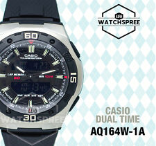 Casio Analog Digital Dual Time Watch AQ164W-1A