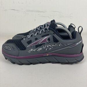 Altra Lone Peak 3.0 Womens Trail Running Shoes US 10.5 Grey Black Free Postage
