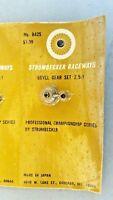 Strombecker SIX Bevel Gear Sets  2.5:1 ratio  No. 8425
