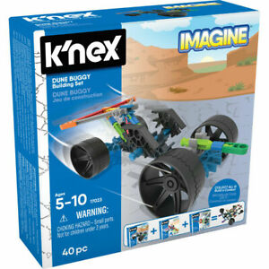 K'Nex 17023 Imagine Starter Building Set (Wave 2) Dune Buggy 40 Pieces