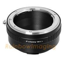 "Nikon Lens to Leica L Mount Adapter fits Sigma fp Mirrorless camera ""US Seller"""