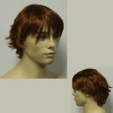 Male Red Head Wig.