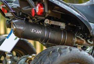EXAN Carbon Cap SCHWARZ Sportauspuff Triton 450 Access AMS 4.38 Xtreme 480