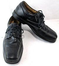 Florsheim Mens Dress Shoe Black Leather Rubber Sole Lace up Size 10 M