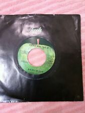 """New listing 45 Rpm Records"""" Come And Get It""""./""""Rock Of All Ages Bad Finger 1815 Apple Record"""
