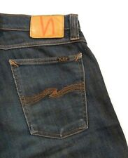 Nudie Jeans Tight Long John Skinny Leg in Dirty Stretch Blue sz 28