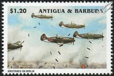 WWII 1945 Battle of Berlin Russian/Soviet Airstrikes Lavochkin Aircraft Stamp