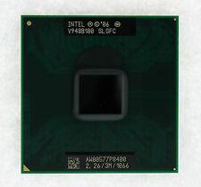 Neu Slgfc Intel Core 2 Duo P8400 2.26 GHZ Dual-Core Laptop Prozessor CPU