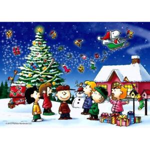 Snoopy Peanuts Christmas World Walt Disney ❄️🎁 Cross Stitch Pattern  🎅