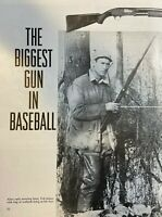 1955 Baseball Player Ted Williams As A Hunter illustrated