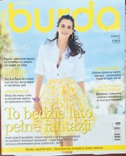 More details for burda style sewing pattern magazine in polish 6/2013
