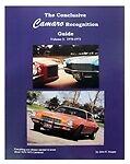 1970-1973 Conclusive Camaro Recognition Guide Book: Volume 3