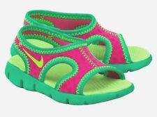 New NIKE Kids' Toddler Girls' Sunray 9 Sandals Shoes Youth Size 2 (M) Toddlers