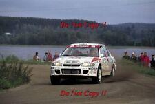 Armin Schwarz Mitsubishi Lancer Evo I 1000 Lakes Rally 1993 Photograph 2