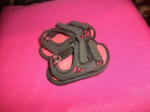 NAVY AND RED  SANDALS  INFANT BOYS  SZ. 2  / STORE DISPLAY