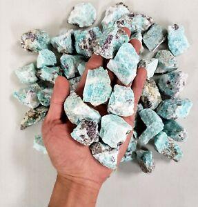 Raw Amazonite Crystal - Bulk Wholesale Rough Stones - Amazonite Gemstone Brazil