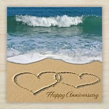 More details for quality wedding anniversary card for husband wife partner - exclusive designs !
