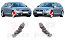 FOR AUDI A3 (8P) 03 - 08 NEW FRONT BUMPER SUPPORT BRACKET PAIR SET L&R