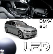 Pack LED BMW E61 17 Ampoules Blanc Habitacle plafonnier  520 523 525 530 540 550