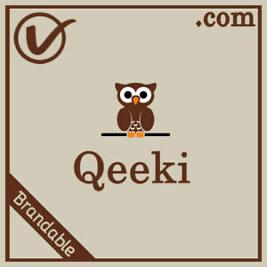 Qeeki.com | Brandable And Pronounceable LLLLL COM Domain Name 5 Letter 5L