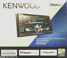 Kenwood DPX502BT Car Audio 2 DIN Bluetooth CD/MP3 Pandora Player USB AUX NEW