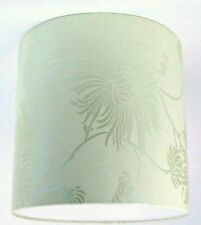"""20cm / 8"""" Lampshade Handmade with Laura Ashley Kimono Eau De Nil Wallpaper Blue"""