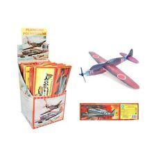 12 Planeurs avions en polystyrène de 20 cm, à monter Assorti : JOUETS KERMESSE