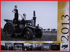 Traktor Schlepper Trekker Kalender 2013 Lanz Bulldog Ursus Eicher Deutz Ferguson