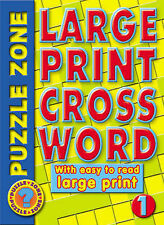 Large Print Paperback Puzzles, Trivia & Indoor Games Books
