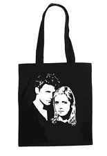 Buffy Y Angel Cult Tv señoras T Shirt Diseño Tote Bag