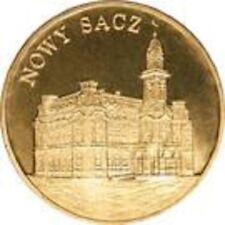 Poland / Polen - 2zl Cities in Poland: Nowy Sacz