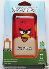 NEW! Gear4 Angry Birds Hard Cover Case Skin for iPod Touch 4th Generation RED