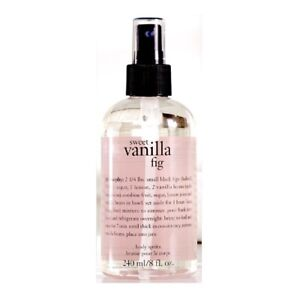 Philosophy Sweet Vanilla Fig Scent Body Spritz Spray 8 fl oz