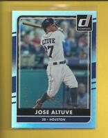 Jose Altuve 2016 Donruss STAT LINE Season Card # 68 ser #'d / 200 Houston Astros