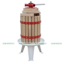 6L/7L/18L Fruit Wine Press Cider Apple Grape Crusher Juice Wine Making Tool