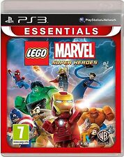 LEGO Marvel Super Heroes For PAL PS3 (New & Sealed)