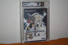 Shining Force EXA (Playstation 2 PS2) NEW SEALED Y-FOLD, MINT GOLD VGA 90, RARE!