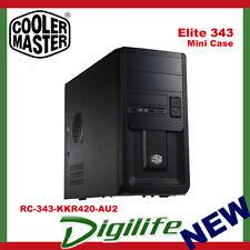 Cooler Master Elite 343 Mini ATX Case w/ 420W PSU RC-343-KKR420 coolermaster