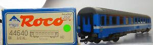 Roco 44640; Eurofima Reisezugwagen 1./2 Kl. DB, Licht, unbespielt in OVP /P574