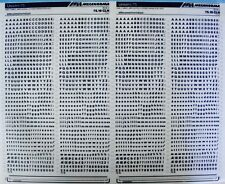 Mecanorma Dry Transfer Lettering Sheet A3 Typography 213 Univers 75 3.7mm