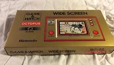 ORIGINAL NINTENDO GAME & WATCH OCTOPUS OC - 22 NEW IN BOX FOR SALE!