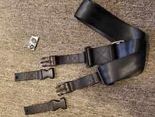 On Stage GSA6230 Click-It Car Seat Belt Guitar Strap, Black
