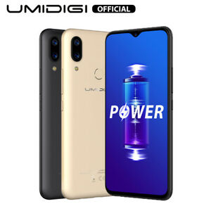 UMIDIGI Power Android 9.0 5150mAh Waterdrop Screen Smartphone 4GB+64GB Global
