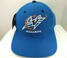 WASHINGTON WIZARDS NBA BASKETBALL 90'S VINTAGE SNAPBACK BLUE HAT CAP PUMA NEW