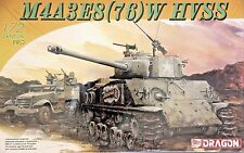 Dragon 7302: 1/72 M4A3E8(76)W  HVSS Sherman